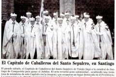 Peregrinación Santiago de Compostela 3 de julio de 1999
